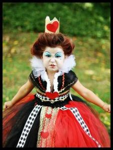 Rainha de Copas, de «Alice no País das Maravilhas» (Lewis Carroll)