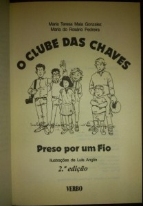 Em todos os livros, uma ilustração das personagens principais. Da esquerda para a direita: Frederico, Pedro, Anica, Guida, Vasco e André.