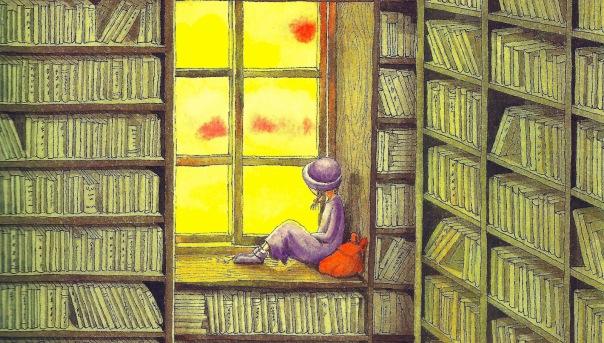 Ilustração de Jimmy Liao in «El sonido de los colores»